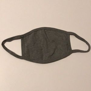 Gray face mask